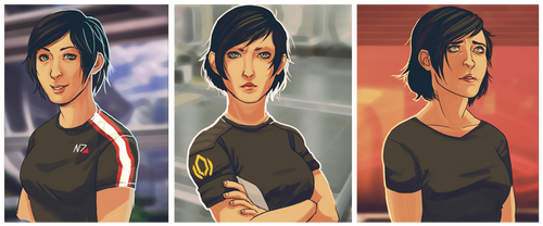 Shepard through the years by iichna