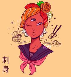 Sashimi Girl by WePePe