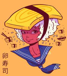 Tamago Sushi Girl by WePePe