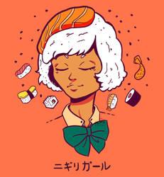 Nigiri Girl by WePePe