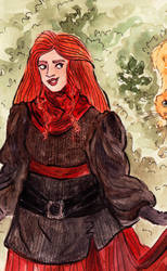 ginny weasley by Shade-in-Hat