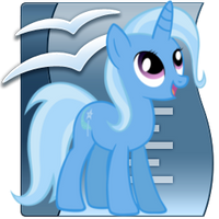 The Great and Powerful Trixie Writer icon by tauts05