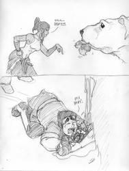 Tumblr Sketch Request 03 by dramaelfie