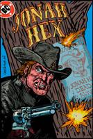 Jonah Hex #76-- Jim Aparo Study by LeevanCleefIII