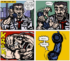 Spider-Man: The Death of J. Jonah Jameson by LeevanCleefIII