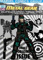 Metal Gear comic (Nick Fury reimagining) by LeevanCleefIII