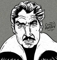 Vincent Price, Inktober 2017 by LeevanCleefIII