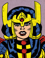 Big Barda by LeevanCleefIII