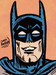 Batman by LeevanCleefIII