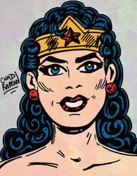 Wonder Woman by LeevanCleefIII