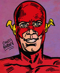 The Flash by LeevanCleefIII