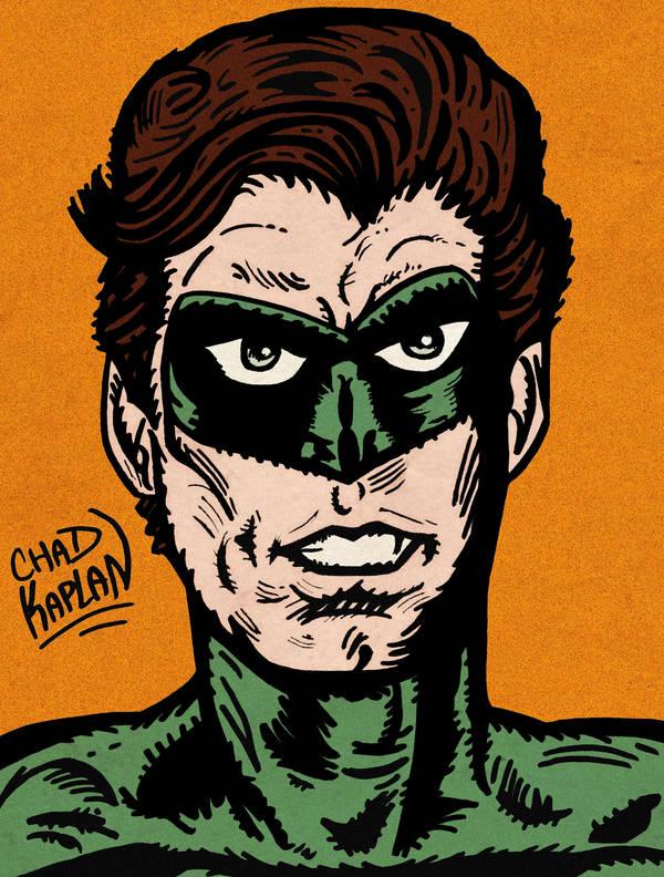 Green Lantern by LeevanCleefIII