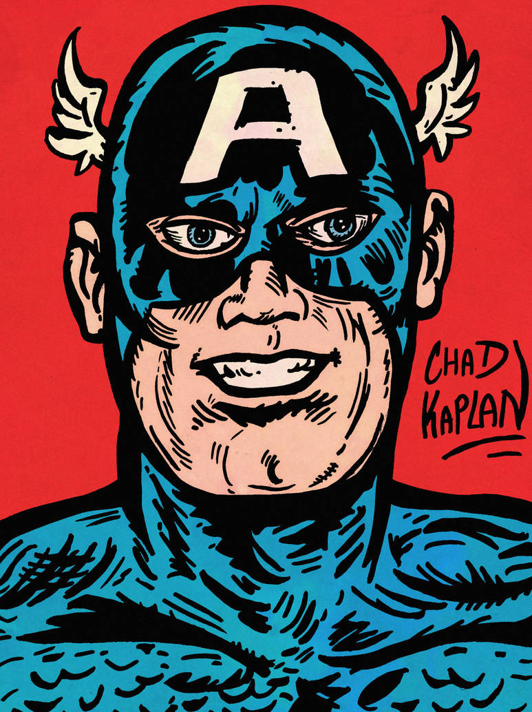 Captain America by LeevanCleefIII