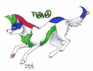 Punk Dog Piana by Rabbiata