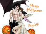 Happy Halloween Reylo by Purple-Meow