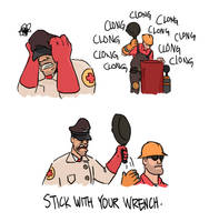 TF2 - Frying Pan by ah-darnit