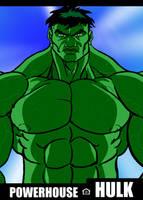 Hulk is a Powerhouse by RODCOM1000