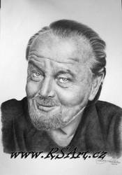 Jack Nicholson by Midaqle