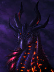 Neltharion the Black by Ghostwalker2061