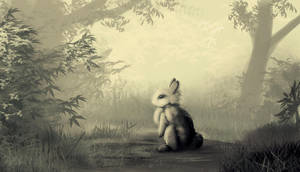 A Bunny in the Forest by Ghostwalker2061