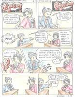 Phoenix Wright Comic 1 by AzureDragon4