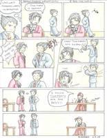 Phoenix Wright Comic 2 by AzureDragon4