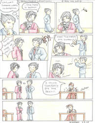 Phoenix Wright Comic 2 by AzureDragon4