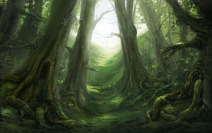 Woods Fable 2 by COEURDECRISTAL