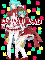 YYB Clover Club Miku Download! by Malik-Hatsune