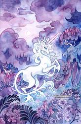 The Last Unicorn by cryptosilver