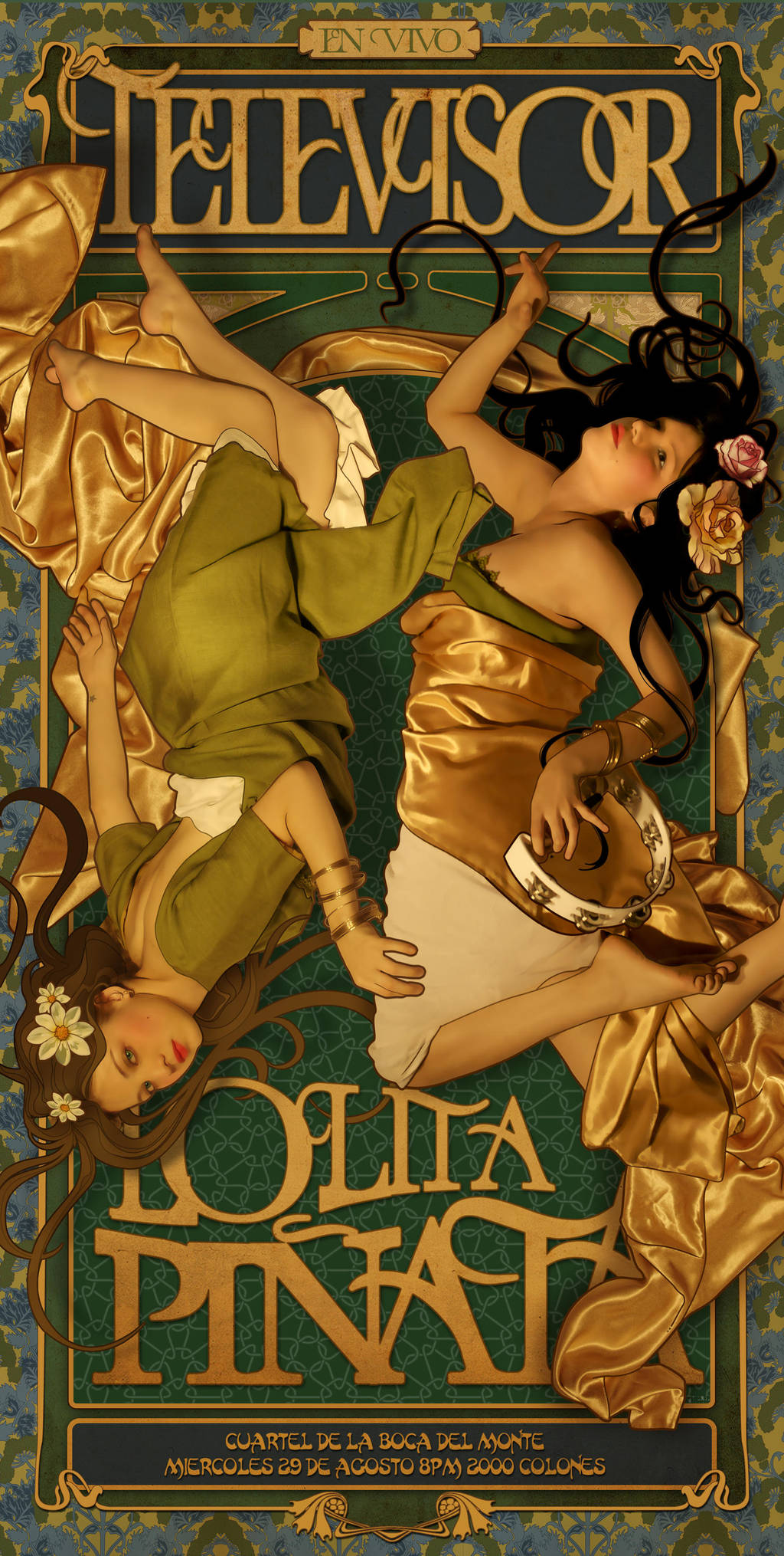 Lolita Pinata y Televisor by lasirenita