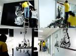 Instalacion Murales DDB by lasirenita
