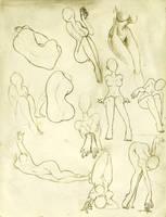 Bocetos Genericos 2 by lasirenita