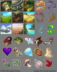 Alchemy Icons by soulofwinter