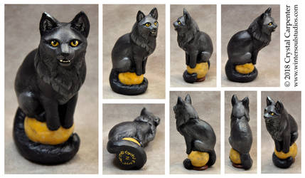 Harvestmoon Altar Cat by soulofwinter