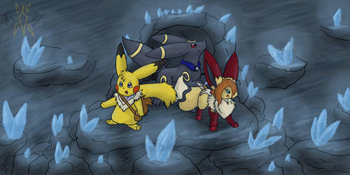 In crystal cave - request by min-mew