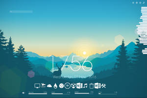 Rainmeter Desktop by Raglet