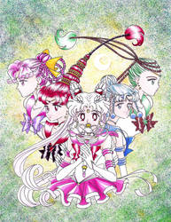 Sailor Moon - Next Generation by artistamonique