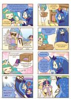 Humanized pony comic 1, 2 by HowXu