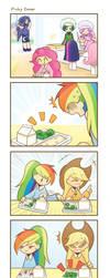 My Little Kindergarten 4koma 3 strip by HowXu