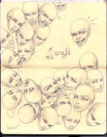 Faces by SkoLzki