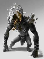 Demonic split personality by SkoLzki