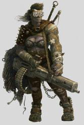 Raider halfmutant by SkoLzki