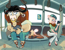 On the Bus by StephenMcCranie