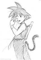 Anime Rewind: Goku by jfong
