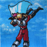Phantasy Star IV Square for SS 2014 Charity Quilt by Lileya-Celestie
