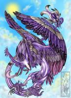 Godness of sky by Acayth