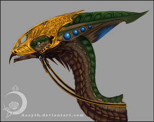 Head armor by Acayth