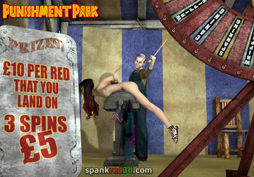 Punishment Park - Wheel of Miss Fortune by SpankRed