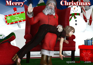 Christmas Spanking by SpankRed